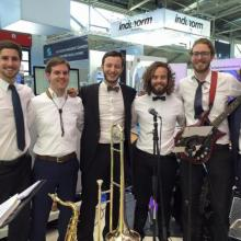Brass Tacks Band - Auftritt Messe