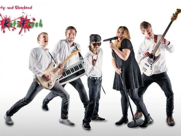 RotzFrech Partyband spielt Faschingsball
