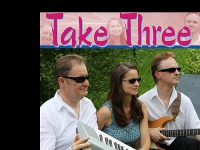 Take Three Trio mit Sängerin niveauvolle Party, Dinner- und Tanzmusik