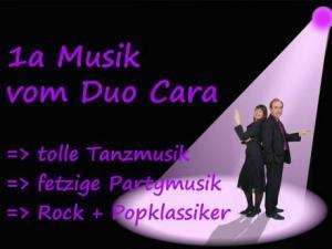 Duo Cara vielseitiges Duo für Ihre Hochzeit