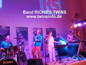 Live Band RiCHiES TWiNS, Hochzeit Party Livemusik