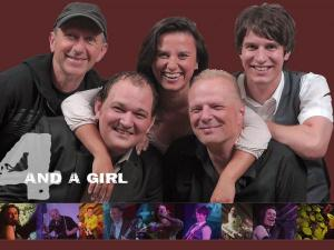 4-and-a-girl die Live Band aus Regensburg