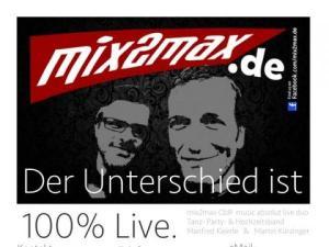 Mix2max Livemusik Duo Tanzmusik