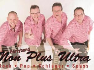 Non plus Ultra die Partyband mit Rock Pop Schlager