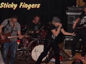 Sticky Fingers spielt Club / Disco, Firmenjubiläum / Betriebsfeier und Stadtfest