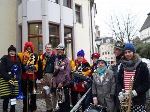 Reschtle-Musik spielt Geburtstag und Stadtfest
