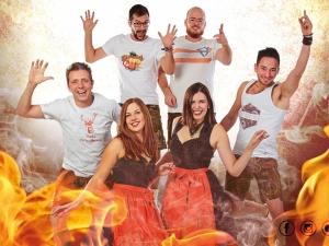 Partyband Guat drauf spielt Faschingsball, Firmenjubiläum / Betriebsfeier, Hochzeit, Open Air / Festival, Sommerfest, Stadtfest, Tanzball / Gala, Vereinsfest, Volksfest / Zeltparty und Weihnachtsfeier