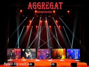 Aggregat spielt Konzert, Sommerfest, Stadtfest, Vereinsfest, Volksfest / Zeltparty und Club / Disco