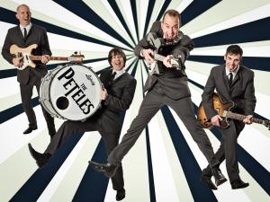 THE PETELES - a very special Beatles Tribute spielt Club / Disco, Firmenjubiläum / Betriebsfeier, Geburtstag, Hochzeit, Konzert, Open Air / Festival, Polterabend, Sommerfest, Stadtfest, Tanzball / Gala, Vereinsfest, Volksfest / Zeltparty und Weihnachtsfeier