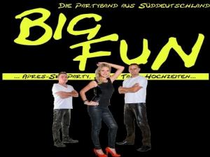 BigFuN - die Partyband spielt Firmenjubiläum / Betriebsfeier, Faschingsball, Konzert, Open Air / Festival, Polterabend, Sommerfest, Stadtfest, Vereinsfest, Volksfest / Zeltparty und Weihnachtsfeier