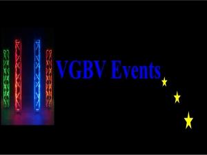 VGBV-Events spielt Hochzeit, Firmenjubiläum / Betriebsfeier, Geburtstag, Tanzball / Gala, Faschingsball, Trauung, Kirche / Sakral, Konzert, Open Air / Festival, Polterabend, Sommerfest, Stadtfest, Taufe, Vereinsfest, Volksfest / Zeltparty, Weihnachtsfeier und Club / Disco