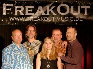 Freakout spielt Club / Disco, Firmenjubiläum / Betriebsfeier, Geburtstag, Sommerfest, Stadtfest und Vereinsfest
