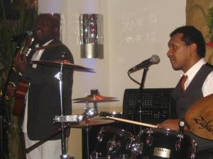 Renato Pantera Samba Soul Band spielt Open Air / Festival, Sommerfest und Stadtfest