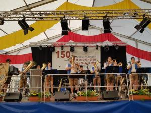 Weiß-Blaue Siebentäler spielt Sommerfest, Stadtfest, Vereinsfest und Volksfest / Zeltparty