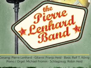 """The Pierre Lenhard Band """" Remember The Good Old Days"""" spielt Club / Disco, Faschingsball, Firmenjubiläum / Betriebsfeier, Geburtstag, Hochzeit, Kirche / Sakral, Konzert, Open Air / Festival, Polterabend, Sommerfest, Stadtfest, Tanzball / Gala, Taufe, Trauung, Vereinsfest, Volksfest / Zeltparty und Weihnachtsfeier"""