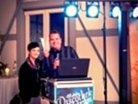 Mobile Discothek Spektrum DJ Axel & Margret spielt Faschingsball, Firmenjubiläum / Betriebsfeier, Geburtstag, Hochzeit, Polterabend, Sommerfest, Stadtfest, Tanzball / Gala, Vereinsfest, Volksfest / Zeltparty und Weihnachtsfeier