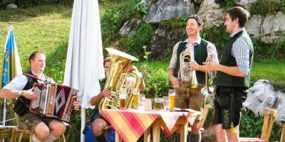 oktoberfest musik bayerische volksmusik duo