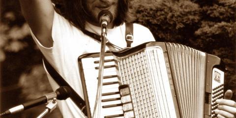 Alleinunterhalter Musik Akkordeonist