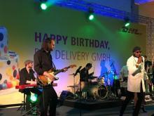 Partywerker Band spielt Geburtstagsfeier