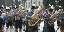 Blaskapelle Festzug  Marschmusik