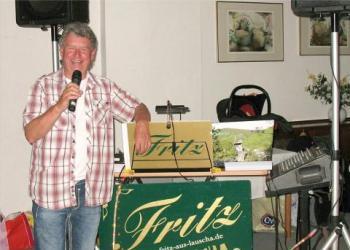 Fritz aus Lauscha spielt Akkordeon / Steirische